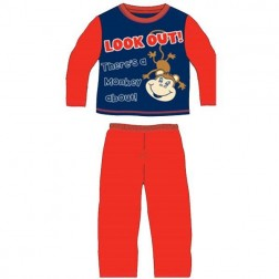 Children's Monkey About Pyjamas - Red