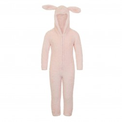 Nifty Kids Sparkle Rabbit Fleece Onesie