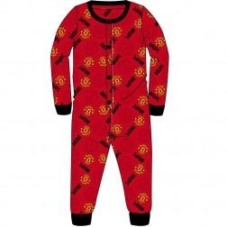 Man Utd Jersey Onesie - Red