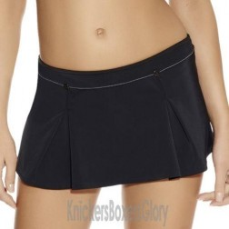 Freya Fever Skirted Bikini Brief - Black