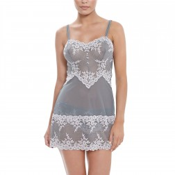 Wacoal Embrace Lace Chemise - Frost Pink/Grey