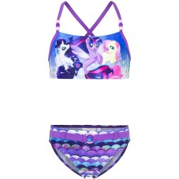Girls My Little Pony Purple Bikini Set