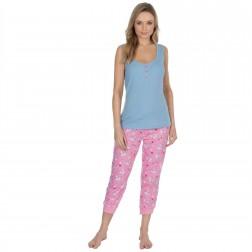 Forever Dreaming Unicorn Jersey Pyjamas - Blue