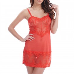 Wacoal Embrace Lace Chemise - Poppy Red