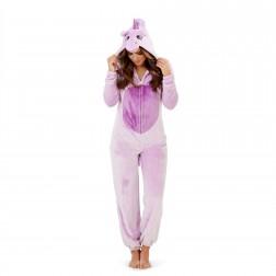 Loungeable Boutique Unicorn Onesie - Purple
