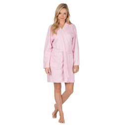 Forever Dreaming Waffle Robe - Light Pink