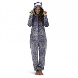Loungeable Boutique Star Print Owl Onesie