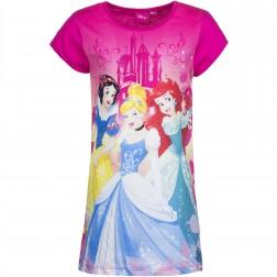 Girls Disney Princess Nightie - Fushsia