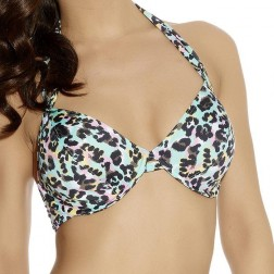 Freya Malibu Bandless Triangle Bikini Top - Sherbet