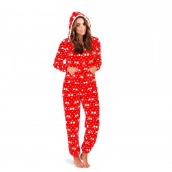 Loungeable Boutique Penguin Print Onesie