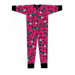 Monster High Jersey Onesie - Pink