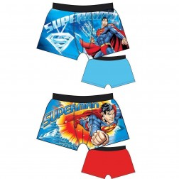 Mens Superman Trunks (2 Pack) - Blue