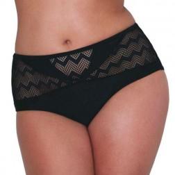 Curvy Kate Hi Voltage Bikini Brief - Black