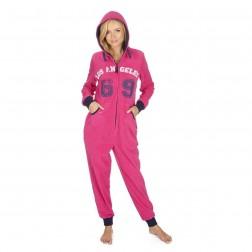 Onezee Logo Print Onesie - Pink