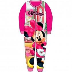 Minnie Mouse Fleece Onesie - Pink