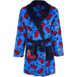 Kids Disney Cars Fleece Robe - Blue