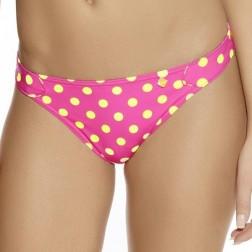 Freya Bon Bon Rio Tab Side Bikini Brief - Bright Pink