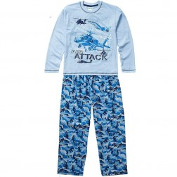 Children's Air Attack Camo Pyjamas - Blue