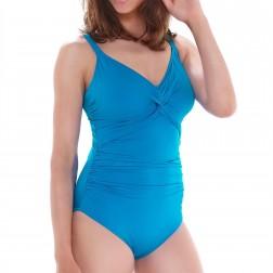 Fantasie Swimwear Versailles Twist Front Control Swimsuit - China Blue