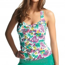 Freya Girl Friday Halter Tankini Top - Jade