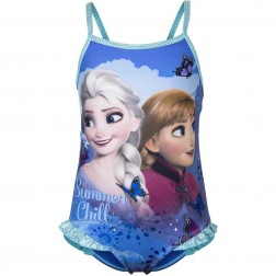 Girls Disney Frozen 'Summer Chill' Swimsuit