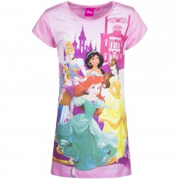 Girls Disney Princess Nightie - Pink