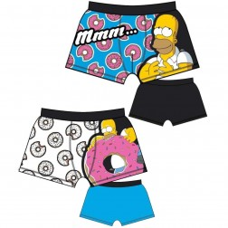 Mens The Simpsons Donut Trunks (2 Pack)