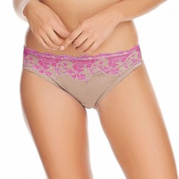 Wacoal Lace Affair Brief - Spring Crocus/Cloud Grey