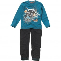 Children's Street Skateboard Pyjamas - Blue