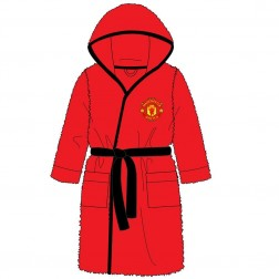 Children's Manchester United FC Fleece Robe