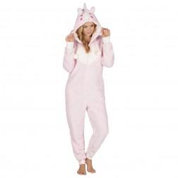 Onezee Unicorn Fleece Onesie - Pink