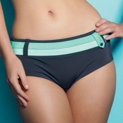 Freya Samba Bikini Shorts - Graphite