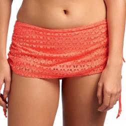 Freya Spirit Skirted Bikini Brief - Coral