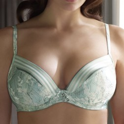 Masquerade Estepona Plunge Bra - Duck Egg