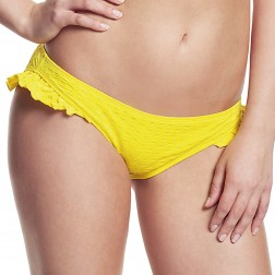 Panache Cleo Matilda Frill Bikini Brief - Yellow
