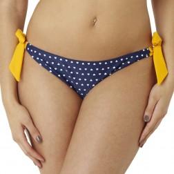 Panache Cleo Leena Tie Side Bikini Brief - Heart Print