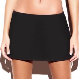 Panache Holly Skirted Bikini Brief - Black