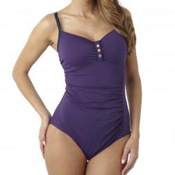 Panache Veronica Swimsuit - Cassis