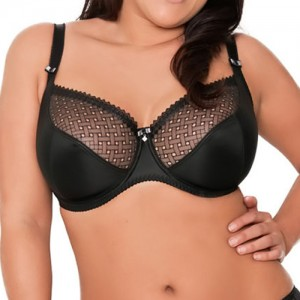 Curvy Kate Gia Balcony Bra - Black