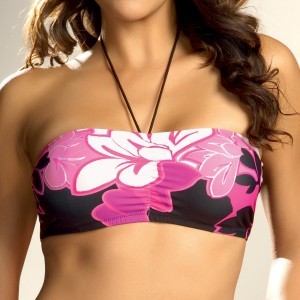 Fantasie Maui Bandeau Bikini Top - Fuschia