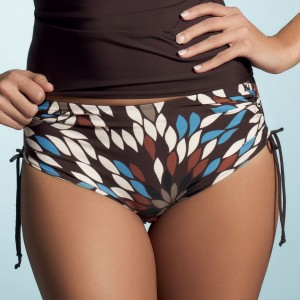 Fantasie Vienna Adjustable Bikini Shorts - Bourbon