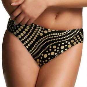 Fantasie Mauritius Mid Rise Bikini Briefs - Champagne