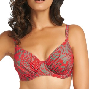 Fantasie Durban Full Cup Bikini Top - Red