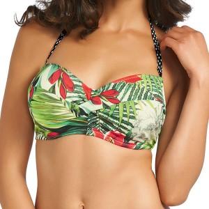 Fantasie Malola Bandeau Bikini Top - Raspberry