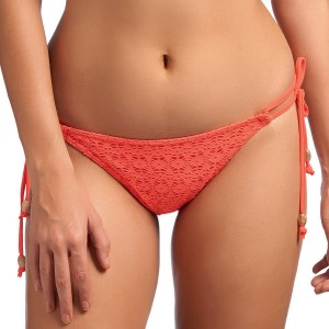Freya Spirit Rio Tie Side Bikini Brief - Coral