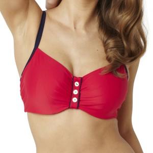 Panache Veronica Balconnet Bikini Top - Red