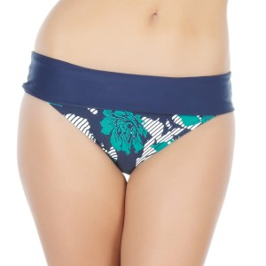 Panache Page Folded Bikini Brief - Floral Stripe