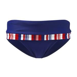Panache Stella Folded Bikini Brief - Navy