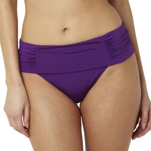 Panache Marina Fold Bikini Brief/Bottoms - Amethyst
