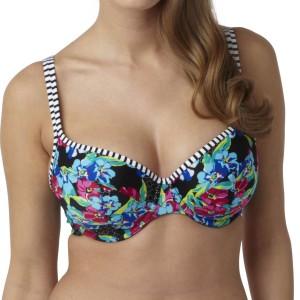 Panache Elle Balconnet Bikini Top - Floral Print